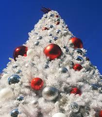 Christmas Tree Los Angeles White