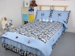 Camouflage Bedding Queen by Amazon Com Blue Camouflage Twin Kids Childrens Bedding Set 4 Pcs