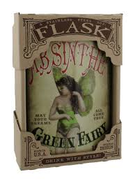 Trixie The Halloween Fairy by Trixie U0026 Milo Green Fairy Absinthe Hip Flask Buy Online At