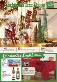 Christmas Tree Shops Ad November 19