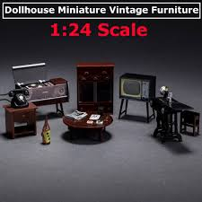 Vintage Dollhouse Play Scale Furniture By TheToyBox On Etsy