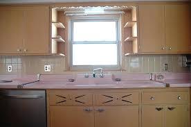 50s Kitchen Retro Pink Updating Cabinets