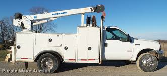 100 Service Truck 2004 Ford F550 Super Duty Service Truck With Crane Item L5