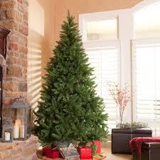 Slim Pre Lit Christmas Trees by Classic Pine Slim Pre Lit Christmas Tree Hayneedle Intended For