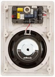 Polk Audio Ceiling Speakers Rc60i by Amazon Com Polk Audio Rc65i 2 Way In Wall Speakers Pair White