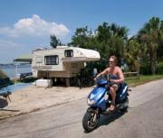 Buying A Bunkhouse Camper Motorcycle Camping