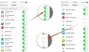 How to Check Track Monitor iPhone iPad iPod Data usage in iOS