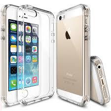 Amazon Ringke FUSION iPhone SE Case Crystal Clear PC Back