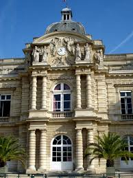 siege social salomon detail of garden facade luxembourg palace by salomon de brosse
