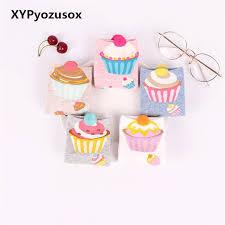 Cupcake Short Socks Women Cute Kawaii Cream Fairy Patty Cake Boat Lovely Funny Sweet Cotton