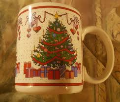 Spode Christmas Tree Mugs by Mugs Cups Decorative Collectibles Collectibles
