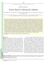 si e orthop ique term results of hybrid total knee pdf available