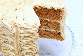 Delicious Carrot Cake Doctored Cake Mix Recipe by MyCakeSchool My Cake School line