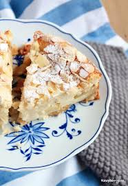 herbstlicher apfel mandel kuchen mit quark kuchen und