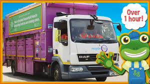 100 Trash Trucks On Youtube Garbage For Kids And MORE Big Geckos Real Vehicles