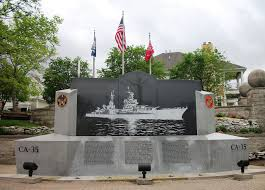 Where Did The Uss Maine Sank Map by Uss Indianapolis Memorial Clio