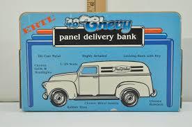 100 1948 Chevy Panel Truck Vintage ERTL Die Cast True Value Delivery Model Toy