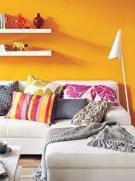 wohnen im afrika design mit feurigen sonnenuntergängen in orange