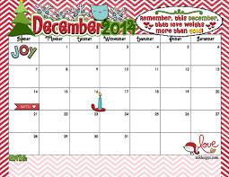 December 2014 Calendar is here Yep inkhappi