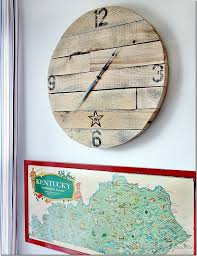 How To Make A Pallet Wood Clock Project
