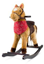 100 Cowboy In Rocking Chair JOON Joon Pony Horse Wayfair