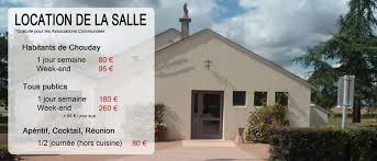 tarif salle des fetes salle des fêtes ville de chouday
