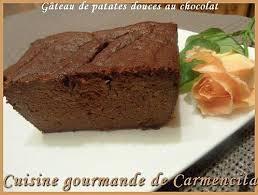 recette de cuisine gateau recette gâteau de patates douces au chocolat 750g