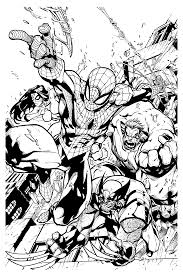 Spider Man Pose Coloring Page Wecoloringpage Coloriage Ultimate Spider Man