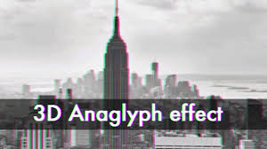 How To Make The 3D Anaglyph Effect in shop