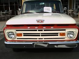 1962 Ford F100 Unibody Pickup Truck RedWht TheVillages071914 - YouTube