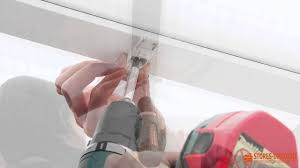 pose d un store vélum au plafond d une véranda comment faire