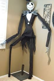 Nightmare Before Christmas Halloween Decorations Ideas by Pvc Jack Skeleton Decoration 5 Steps With Pictures