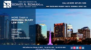 Personal Injury, Car Accident Lawyer In Orlando - Sidney A. Roman P.A. Motorcycle Accident Lawyer In Orlando Knowdgeable Lawyers Jaspon Armas Pa Car Competitors Truck Personal Injury Smith Eulo Modern Flat Nose Articulated Lorry Truck Wolf Pigs Wander Along Florida Highway After South West Palm Beach Auto Attorneys Crash San Francisco Injures Seven Heavy Equipment Accidents Caught On Tape Excavator Loading Fail How To Recover Damages With An Attorney Fl Miami Coral Gables