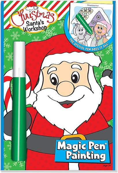 Lee Dear Santa Magic Pen Painting Book
