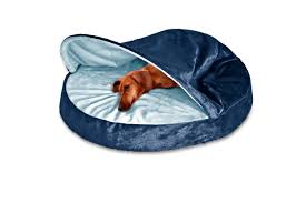 Top Rated Orthopedic Dog Beds by Furhaven Microvelvet Snuggery Orthopedic Dog Cave Bed Pet Bed Ebay