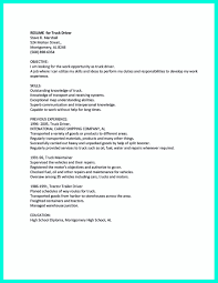 Inspiration Sample Resume For Cdl Class A Driver For Cdl Resume ...