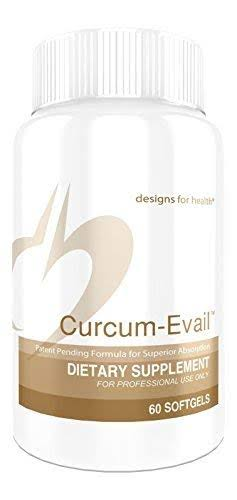 Designs for Health Curcum Evail Bioavailable Curcumin Turmeric Oil Dietary Supplement - 30 Softgels