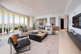 track lighting living room home interior design