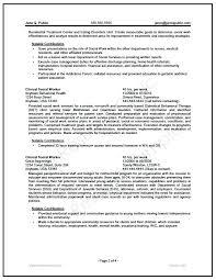 Sample Social Work Resume Federal Worker Writer Example Of Curriculum Vitae
