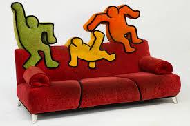 keith haring sofa bretz diese ware steht erneut zur