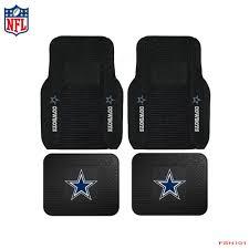 100 Rubber Truck Mats 4pcs Set NFL Dallas Cowboys Car Carpet Vinyl Rubb