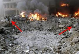 The Arrows Show Direction Of Explosion Since It Was Planted Underground Created A V Crater From Bottom To Top