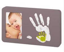 cadre bébé avec empreintes mains et pieds kits et tutoriels home