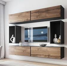 details zu wohnwand teodor i tv möbel wohnzimmer set hängeschrank modern kollektion