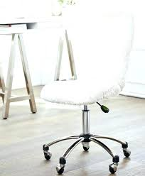 Furry Chair White Desk Chairs That Will Make Your Office Look Cleaner