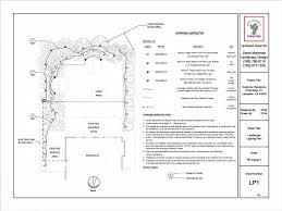 Lighting Plan From David Moorman Landscape Design In Victorville