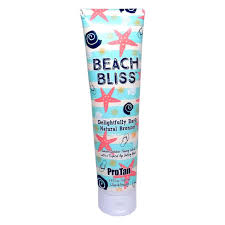 Tanning Bed Lotions With Bronzer by Pro Tan Beach Bliss Dark Natural Bronzer 9 5 Oz