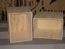 caisse a vin en bois l arbre à idées objets en bois sur mesure