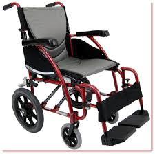 Transport Chair Or Wheelchair by Lightweight Ergonomic Transport Chair