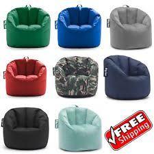 Bean Bag Chair Big Joe Water Stain Resistant Dorm Kids Seat Furniture Lounge
